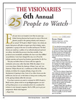 25 people to watch article